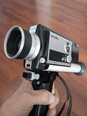 "Minolta AutoPak-8 D4 Vintage 8mm Movie Cam ""As-Is"" for Sale in Montclair, CA"