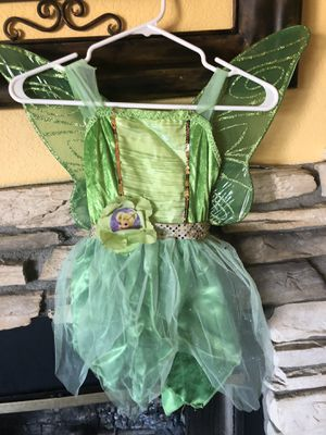 Tinkerbell Costume Size 4-6x for Sale in Palmdale, CA