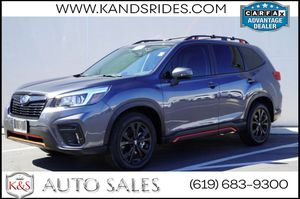 2020 Subaru Forester Sport   *One Owner*, Pano Roof, Adaptive for Sale in San Diego, CA