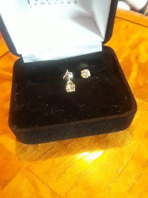 1/2tcw diamond earring studs. for Sale in Austin, TX