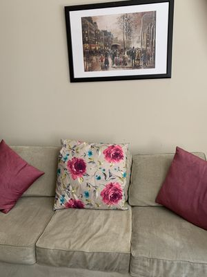 Excellent 3 seater beige Couch for Sale in Pittsburgh, PA