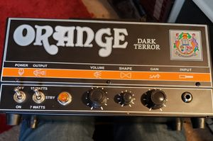 Orange Dark Terror 15w tube amp FS/FT for Sale in Pennsville, NJ