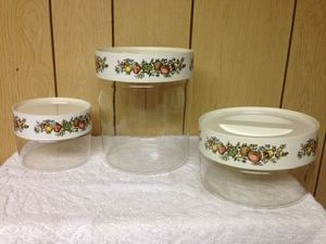 Pyrex storage glass containers for Sale in Irwin, PA