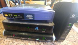 Routers and modem $15 for all. for Sale in Litchfield Park, AZ