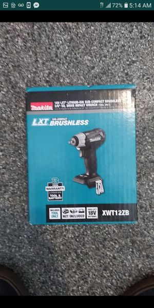 Makita lithium-ion Sub-Compact brushless 3/8 Square Drive impact wrench tool only brand new in the box for Sale in Buena Park, CA
