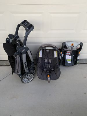 Chicco Bravo stroller and car seat for Sale in Hayward, CA