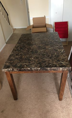 Dining room table (with free chairs ) for Sale in Gambrills, MD