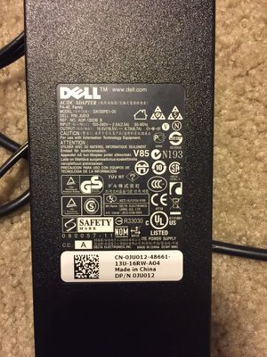 Dell laptop charger for Sale in Portland, OR