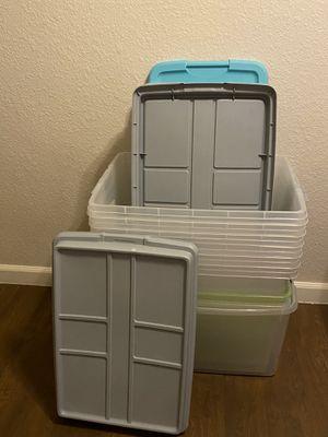 Set of 8 Storage Bins for Sale in Scottsdale, AZ