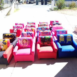 chairs and couch for childrens for Sale in Riverside, CA