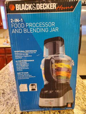 Black and Decker 2 and 1 food processor/blender. Item #2 Countertop convection oven for Sale in Fairview, TX