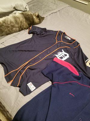 Two slightly worn baseball jerseys *package* for Sale in Garden City, MI