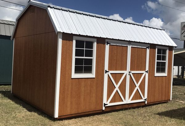 Sheds, Storage Buildings, Portable Buildings-Rent to Own Starting at  $156/mo for Sale in Bastrop, TX - OfferUp
