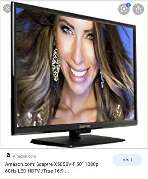 """Sceptre X505BV-F 50"""" 1080p 60Hz LED HDTV for Sale in Pittsburg, CA"""