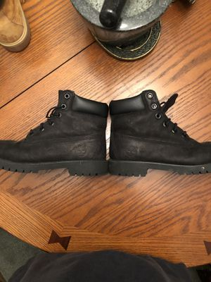 Women's size 5.5 Timberland Boots, Black, used, no box for Sale in Atlanta, GA