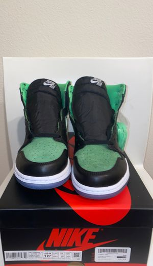 Nike Air jordan 1 Rage green zoom air EU size 10.5 DS for Sale in Fontana, CA
