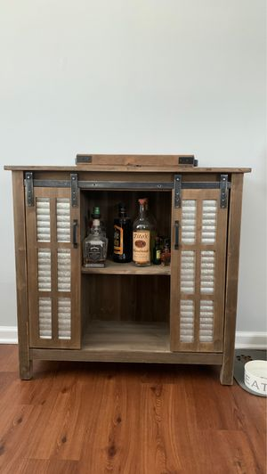 Mini bar with sliding doors for Sale in Charlotte, NC