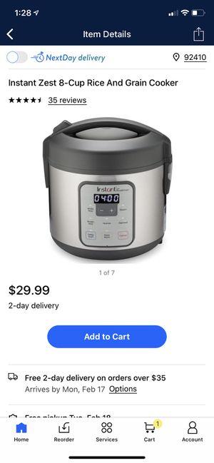 Instant pot for Sale in San Bernardino, CA
