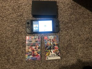Nintendo Switch with extras for Sale in Saginaw, TX