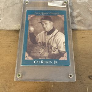 SCARCE 1992 Cal Ripken Jr HERITAGE SERIES Card for Sale in Severn, MD