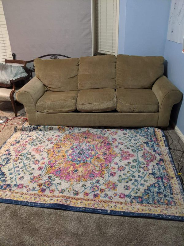 FREE Couch with a pull out bed/ hidAbed with chair