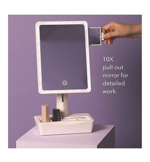Fancii LED Lighted Large Vanity Makeup Mirror for Sale in Louisville, KY
