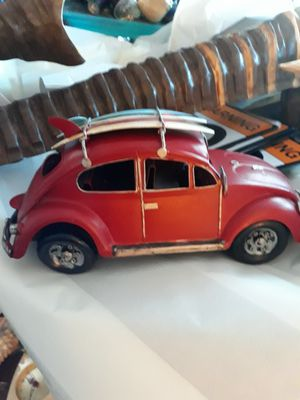 Cool tabletop VW bug with surfboards for Sale in Palm Harbor, FL
