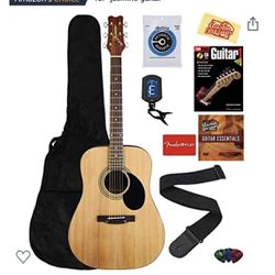 Guitar Bundle Jasmine S35. Perfect for Beginners. Like new condition. for Sale in Seattle,  WA