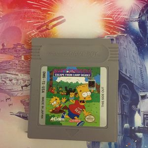 Bart Simpson Game For Nintendo GameBoy for Sale in Fort Lauderdale, FL