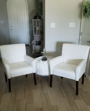 2 Accent Chairs in like new condition. Message Only If A Serious Buyer Please.2 Chairs Only Decor Not Included Or Available For Sale. Asking $220 for Sale in Bakersfield, CA