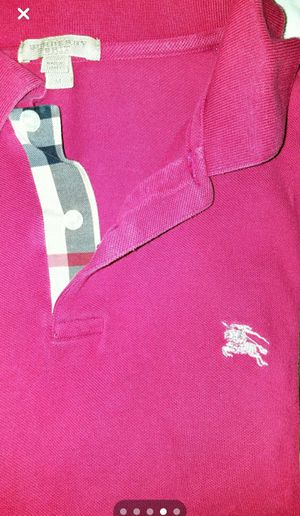 Burberry Short-Sleeved Polo Shirt for Sale in St. Louis, MO