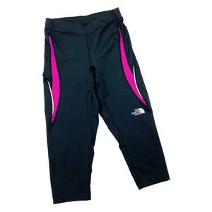 The North Face xs grey pink capris for Sale in Lacey, WA