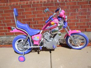 Brand new kids pink Harley power wheels . For 3 to 6 years old for Sale in Atlanta, GA