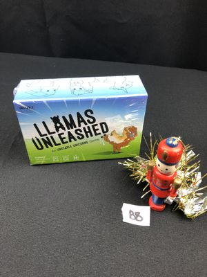 Llamas unleashed new card game for Sale in Montgomery, IL