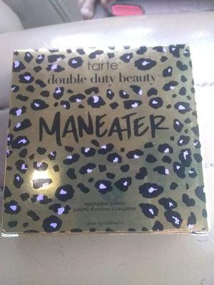 Tarte eyeshadow palette Maneater double duty beauty for Sale in Victorville, CA