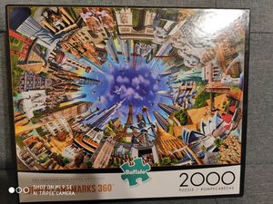 World Landmarks 360 Jigsaw Puzzle for Sale in Chicago, IL