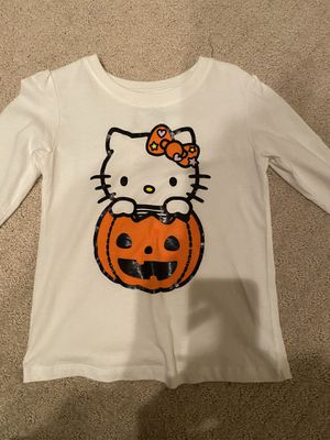 Girls hello kitty Halloween top excellent condition for Sale in Upland, CA