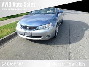 2008 Subaru Impreza for Sale in Monroe, WA