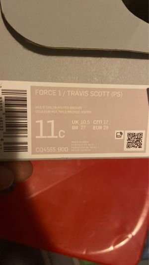 Travis Scott (PS) Air Force 1 for Sale in Miami, FL
