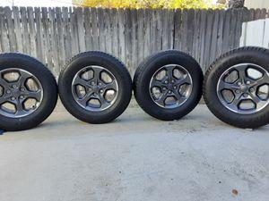265 70 17 gladiator or jeep original rims $400 for Sale in Pomona, CA