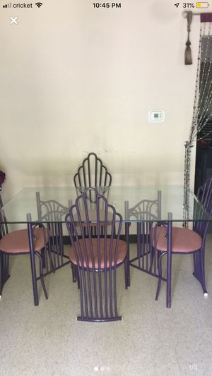 Dining table with 4 chairs for Sale in Erie, PA