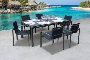Diagonal 7 Piece Dining Set for Sale in Miami, FL