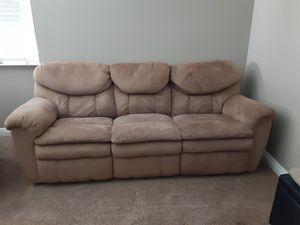 Free Couch and Recliner for Sale in Corona, CA