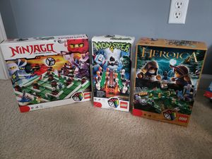 Hard to find lego board games! for Sale in Canal Winchester, OH