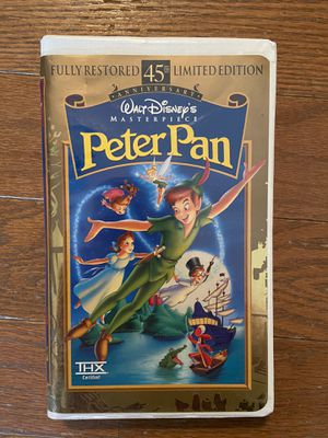 Peter Pan VHS #12730 - limited edition 45th anniversary VHS for Sale in Byrnes Mill, MO
