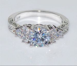 Diamond white sapphire 10KT white gold jewelry for Sale in Columbus, OH
