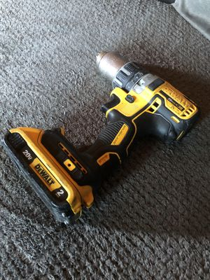 DeWalt 20volt drill for Sale in Los Angeles, CA