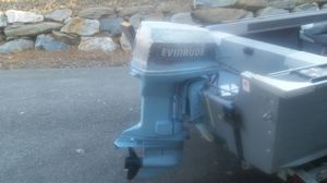Two 90hp evinrudes a Special 88 and a EVO 90hp for Sale in Wenatchee, WA