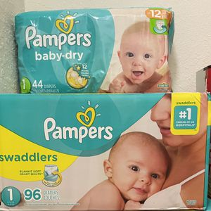 Pampers Diapers for Sale in West Palm Beach, FL