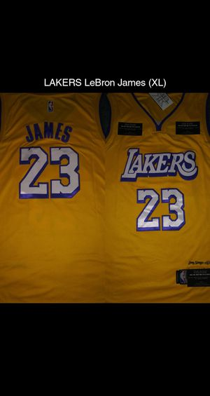 LAKERS LeBron James jersey (XL) for Sale in Bakersfield, CA